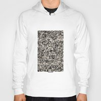 newspaper Hoodies featuring - newspaper - by Magdalla Del Fresto