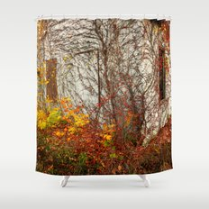 Somewhere in Rhode Island - Abandoned Mill 002 Shower Curtain