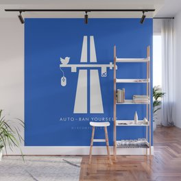 AutoBan Yourself Wall Mural