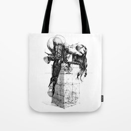 Over knees Tote Bag