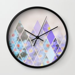 Summer in the Swiss Alps Wall Clock