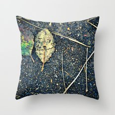leaf you Throw Pillow