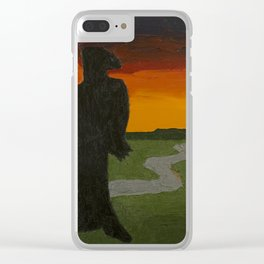 Last of the Blue Ridge Clear iPhone Case