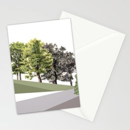 EL PASEO DOMINGUERO (THE SUNDAY STROLL) Stationery Cards