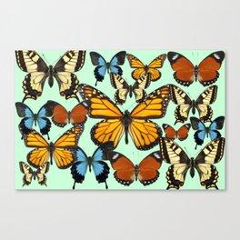 Mariposas- Butterflies Canvas Print