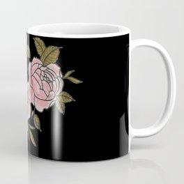 Pink Roses Watercolor Painting Pattern Coffee Mug