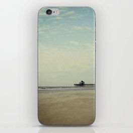 Folly Beach Pier iPhone Skin