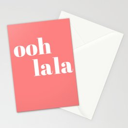 ooh la la IV Stationery Cards