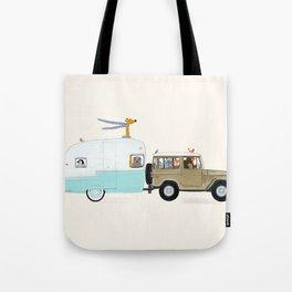 camping trip Tote Bag