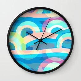 Marine abstraction Wall Clock