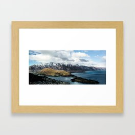 Frankton Arm Framed Art Print