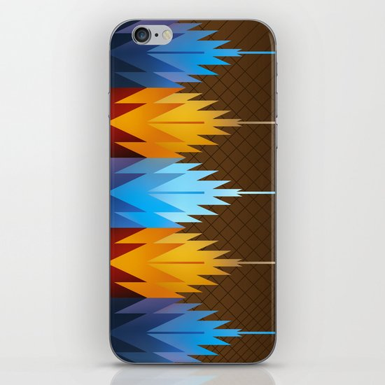 Navajo Fire & Ice iPhone & iPod Skin