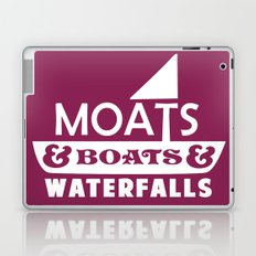 Moats and Boats and Waterfalls Graphic Laptop & iPad Skin