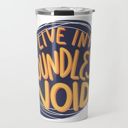I live in a boundless void (The Good Place) Travel Mug