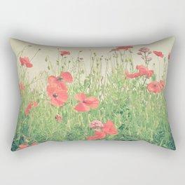 Sea of Red Rectangular Pillow