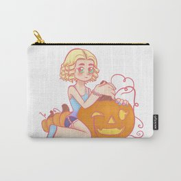Happy Pumpkin Carry-All Pouch