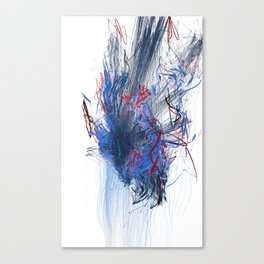 Unwelcome Gaze – Facebook 11 Canvas Print