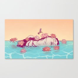 Naiad Lady Canvas Print