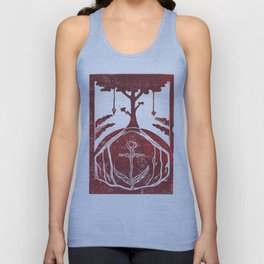Grounding (White) Unisex Tank Top