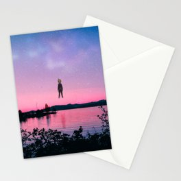 Sunset Psycho Stationery Cards