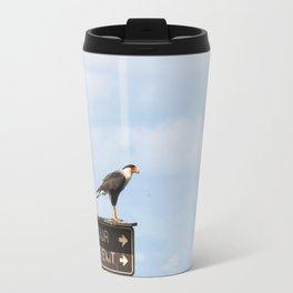 Crested Cara Cara Hawks Travel Mug