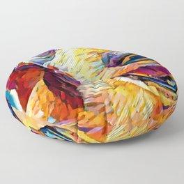 Dachshund 3 Floor Pillow