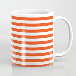 Florida fan gators university orange and blue team spirit football college sports stripes Coffee Mug