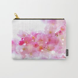 Japanese Sakura Tree with Pastel Pink Blossoms Carry-All Pouch