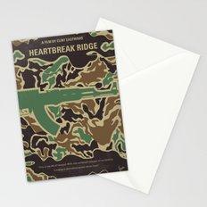 No747 My Heartbreak Ridge minimal movie poster Stationery Cards