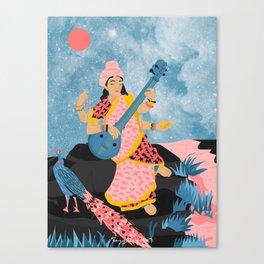 Saraswati Canvas Print