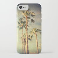 palms iPhone & iPod Cases featuring palms by Sylvia Cook Photography