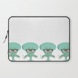 Hipster Squidward Laptop Sleeve