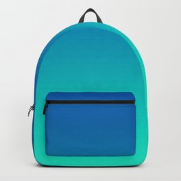 Teal Mint Ombre Backpack