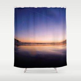 Ocean Sunset #3 Shower Curtain