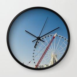 Seattle Waterfront Wall Clock