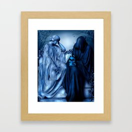 Aeternum Vale Framed Art Print