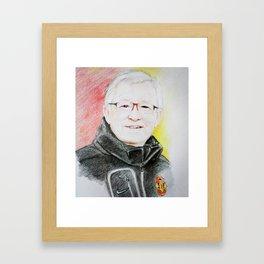 Sir Alex Framed Art Print