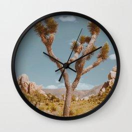 Joshua Tree XI / California Desert Wall Clock