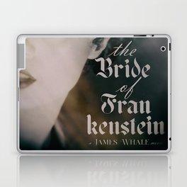 The Bride of Frankenstein, vintage movie poster, Boris Karloff cult horror Laptop & iPad Skin
