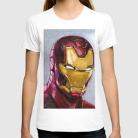 ironman T-shirts featuring IronMan by Morales
