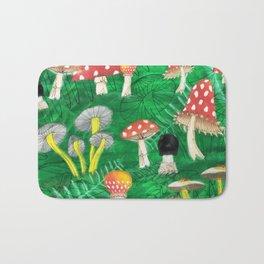 Mushroom Party Bath Mat