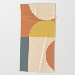 Abstract Geometric 04 Beach Towel