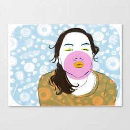 Sugarlips Canvas Print