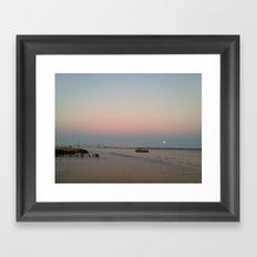 Moon Rising Framed Art Print