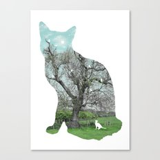 A cat's life III Canvas Print