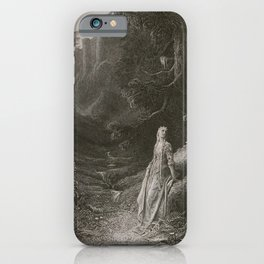 ELAINE on road to Cave of LANCELOT iPhone Case