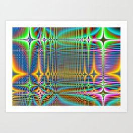 cooled server farm Art Print