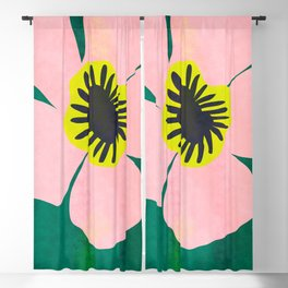 Pink Bloom No 01 Blackout Curtain