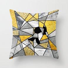 FRAGMENT SKULL Throw Pillow