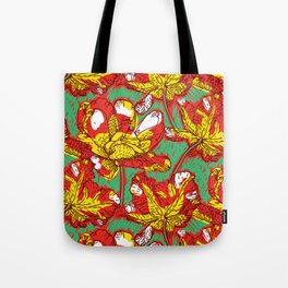 Impressionst's tulips Tote Bag